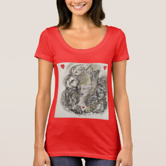 The Queen of Hearts T T-Shirt