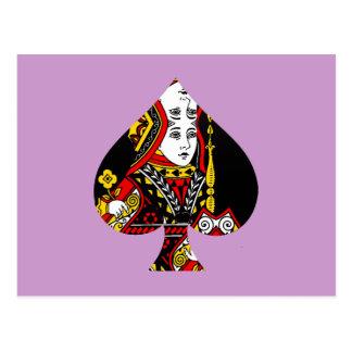The Queen of Spades Postcard