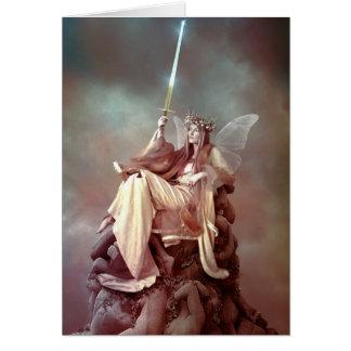 the queen of swords card