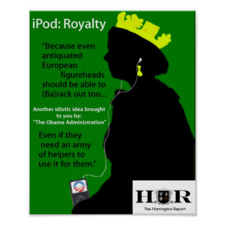 The Queen s iPod Posters