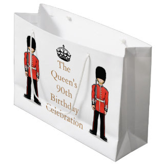 The Queen's 90th Birthday Celebration Large Gift Bag