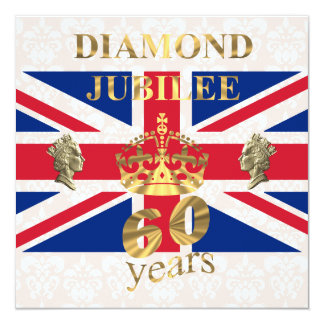 The Queens Diamond Jubilee Card