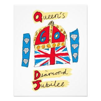 The Queen's Diamond Jubilee Emblem Photo Art