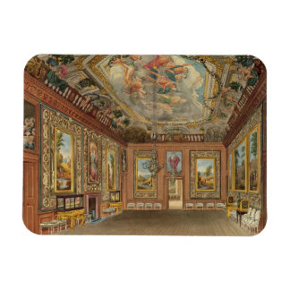 The Queen's Drawing Room, Windsor Castle, from 'Ro Rectangular Photo Magnet