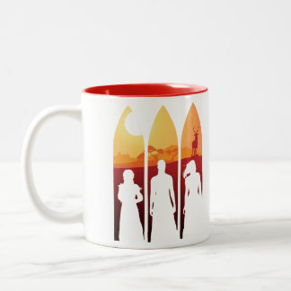 The Quest — Trust the Fates / Harvest Two-Tone Mug