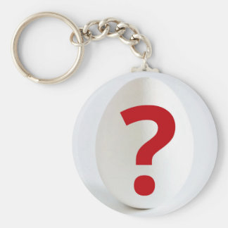 The Question Key Chain
