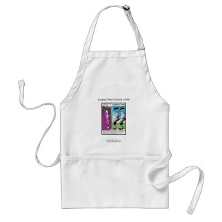 The Question Police Cartoon Unique Funny Apron Apron