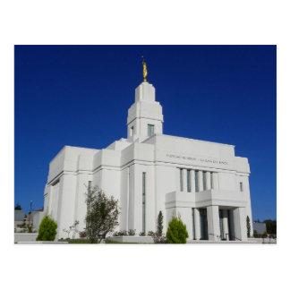 The Quetzaltenango Guatemala LDS Temple Postcard