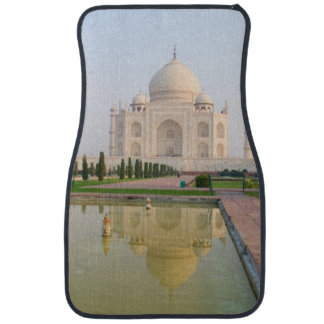 The quiet peaceful Taj Mahal at sunrise one of Car Mat