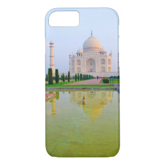 The quiet peaceful World Famous Taj Mahal at iPhone 7 Case