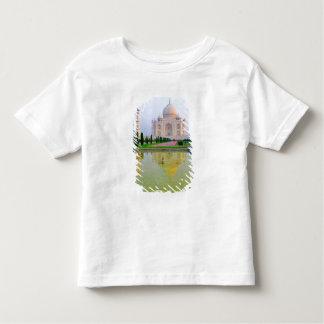 The quiet peaceful World Famous Taj Mahal at Tshirts