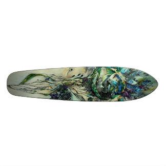 The Quiet Sleep Longboard Skate Board Deck