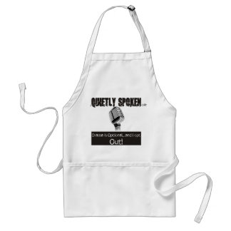 the Quietly Spoken Adult Apron