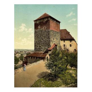 The Quintagonal tower (i.e. Funfeckiger Turm), Nur Postcards