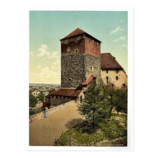 The Quintagonal tower (i.e. Funfeckiger Turm), Nur Post Cards