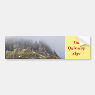 The Quiraing Bumper Sticker