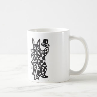 The Rabbit Tips His Hat Coffee Mug