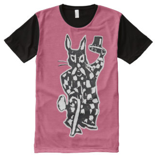 The Rabbit Tips His Hat All-Over Print T-Shirt