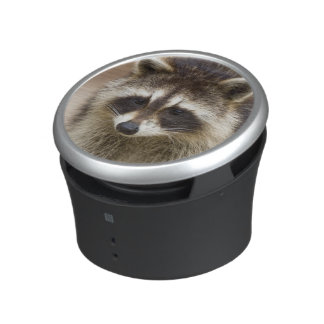 The raccoon, Procyon lotor, is a widespread, Bluetooth Speaker