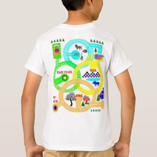 The Race is on - Map Shirt