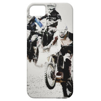 """""""The Race is On"""" Motocross Dirt-Bike Racers iPhone 5 Cover"""