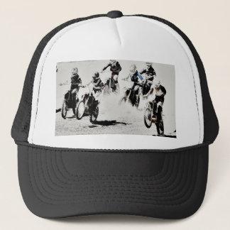The Race is On - Motocross Racers Trucker Hat