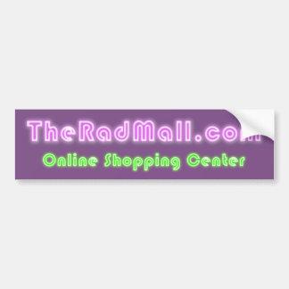 """The Rad Mall """"Website"""" Bumper Sticker"""