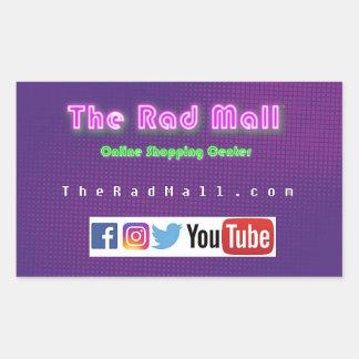 "The Rad Mall ""Website"" Sticker"