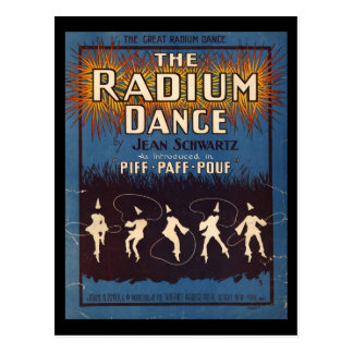 The Radium Dance Postcard