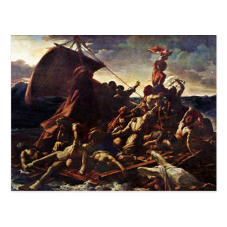 The Raft Of The Medusa, By Géricault Jean Louis Th Postcard