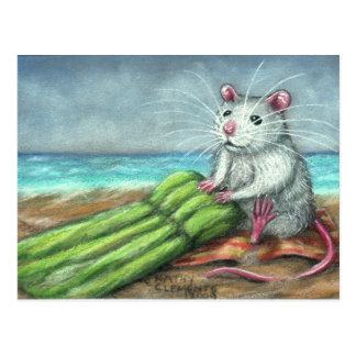 The Raft Rat Beach Postcard