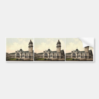 The railway station Cologne the Rhine Germany r Bumper Sticker
