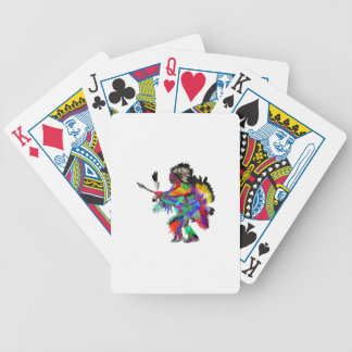 The Rain Dance Bicycle Playing Cards