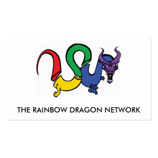The Rainbow Dragon Network CARD Pack Of Standard Business Cards