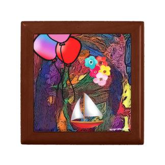 The Rainbow Magic Trinket Box