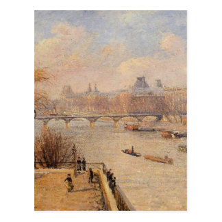 The Raised Terrace of the Pont Neuf by Camille Postcard