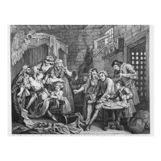 The Rake in Prison Postcard