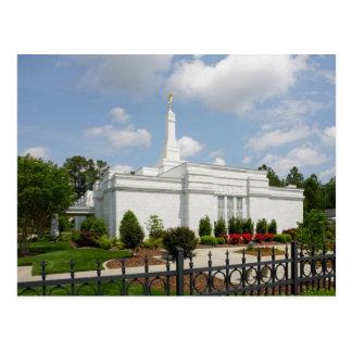 The Raleigh North Carolina LDS Temple Postcard