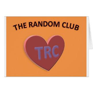 THE RANDOM CLUB2.jpg Greeting Card
