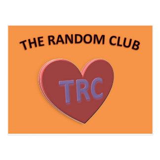 THE RANDOM CLUB2.jpg Postcard