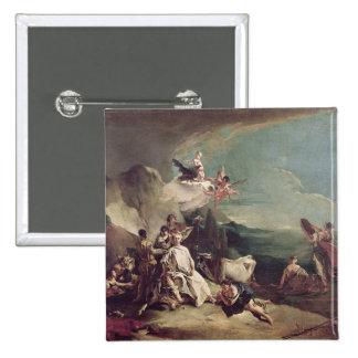 The Rape of Europa, 1720-21 Button