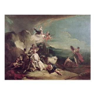 The Rape of Europa, 1720-21 Postcard