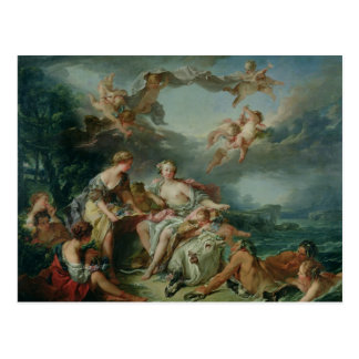 The Rape of Europa, 1747 Postcard