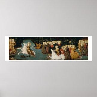 The Rape of Europa, c.1470 (oil on panel) Poster
