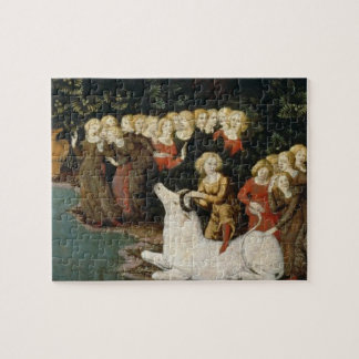 The Rape of Europa, c.1470 (oil on panel) Jigsaw Puzzles