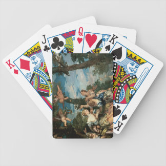 The Rape of Europa (oil on canvas) 2 Poker Deck