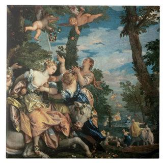 The Rape of Europa (oil on canvas) 2 Tile