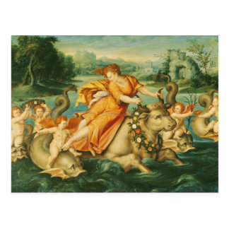 The Rape of Europa Postcard