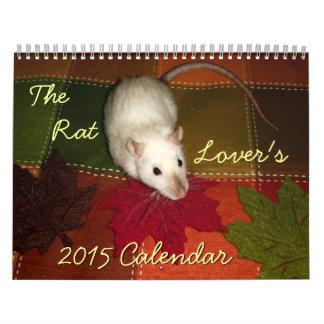 The Rat Lover's 2015 Calendar