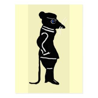 The Rat Meanders Postcard